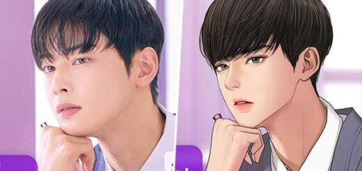 K-POP Ini Memiliki Karakter Manhwa